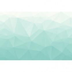 Papier peint scandinave formes géométriques bleues
