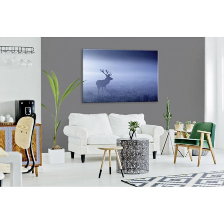 Tableau BLUE MISTY DEER