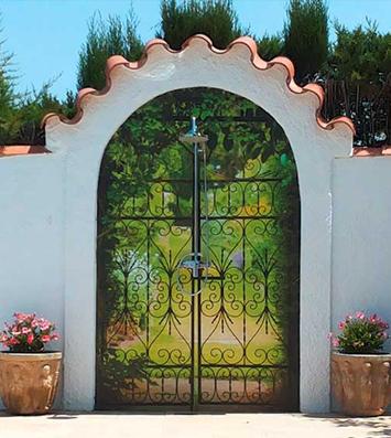 Brise vue jardinet chez Jean-Bernard