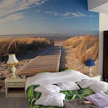 Stéphanie's path through the dunes wallpaper
