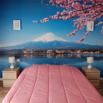 Papier peint Mont Fuji chez Claude