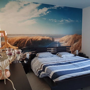 Poster chemin des dunes chez Patricia