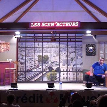 Poster de théâtre Paris la Seine