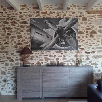 Tableau Aviation chez Yannis