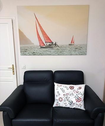 Tableau Cap Corse chez Michel