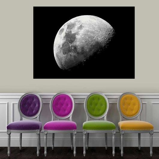 Poster géant Moon lune