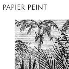 Papier peint gravure