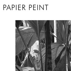 Papier peint tropical