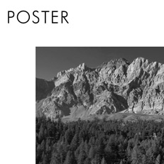 Poster montagne