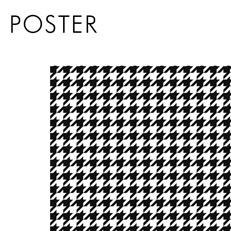 Poster noir et blanc