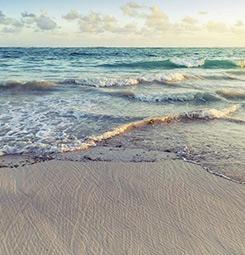 Tableau la plage