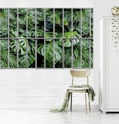 Poster verrière tropical