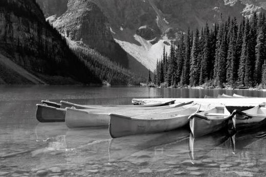 Tableau Canada noir et blanc