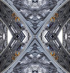 Idée déco murale géométrique