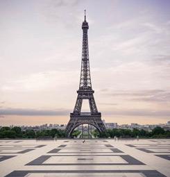 Papier peint urbain tour Eiffel
