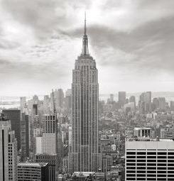 Poster New York noir et blanc