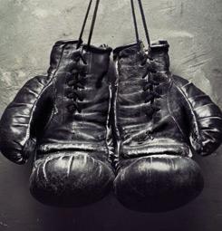 Tableau gants de boxe