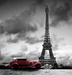 Photo Paris noir et blanc