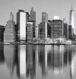 Manhattan noir et blanc