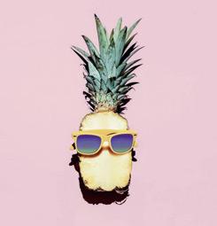 Tableau ananas rigolo