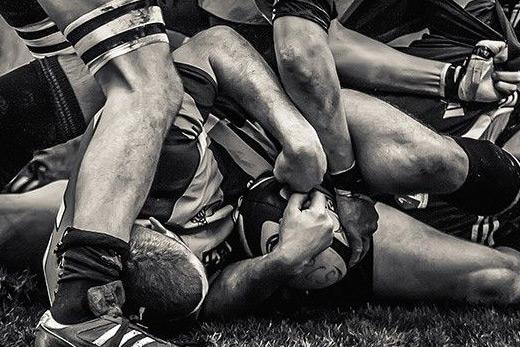 Tableau mural rugby