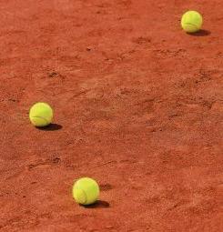 Papier peint tennis