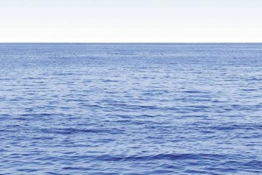 Poster océan bleu