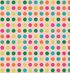 Papier peint points colorés
