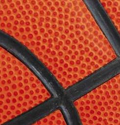 Tableau ballon de basket orange