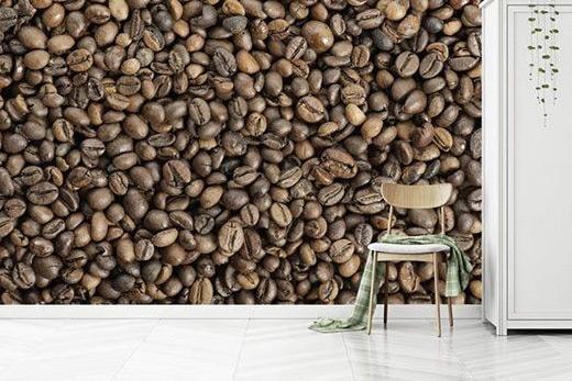 Papier peint café