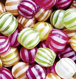 Papier peint bonbons
