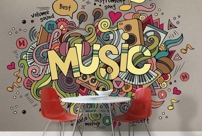 Décoration murale Musique