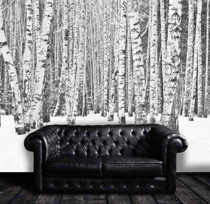 Décoration murale Noir et blanc