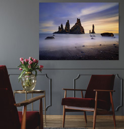 Icelandic landscape wall picture