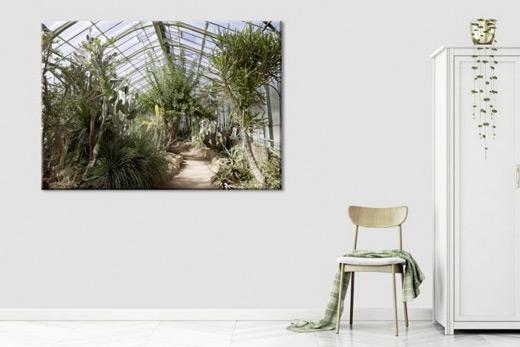 Tableau jardin tropical
