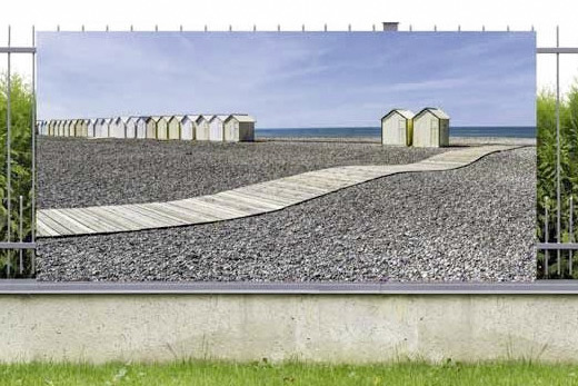Cayeux beach privacy screen
