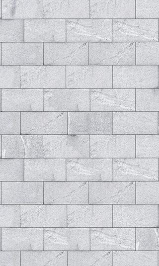 Poster brique blanche