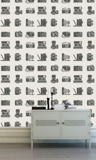 Papier peint appareil photo