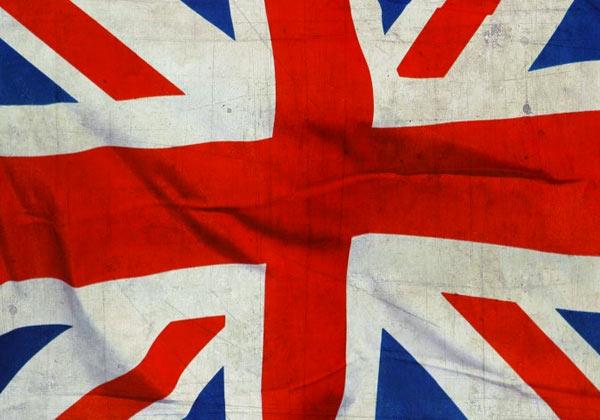 Papier peint drapeau Angleterre