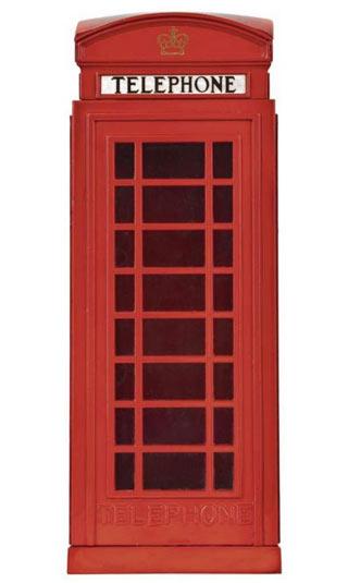 Poster cabine téléphonique Londres