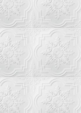 Décoration murale Blanc
