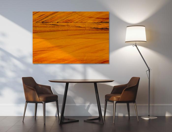 Décoration murale Orange