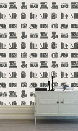 Papier peint appareil photo vintage
