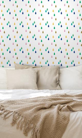 Papier peint à motif pour la chambre