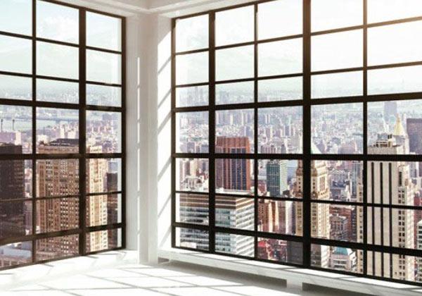 Papier peint baie vitrée sur New York