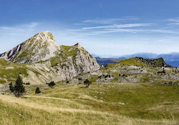Papier peint montagne panoramique