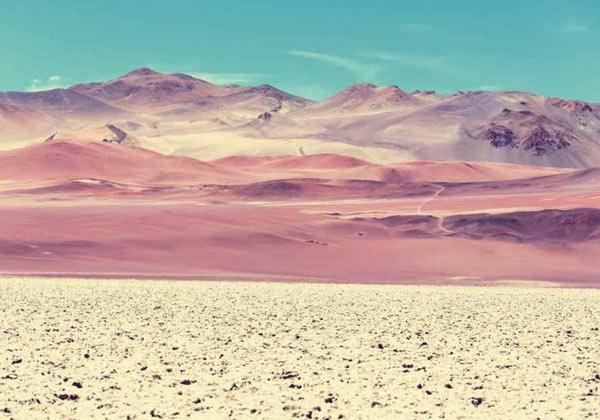 Tableau paysage Argentine