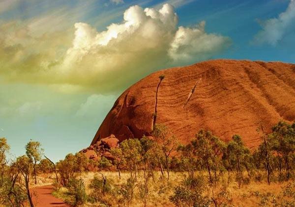 Papier peint désert en Australie