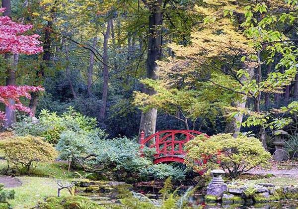 Tableau petit pont zen