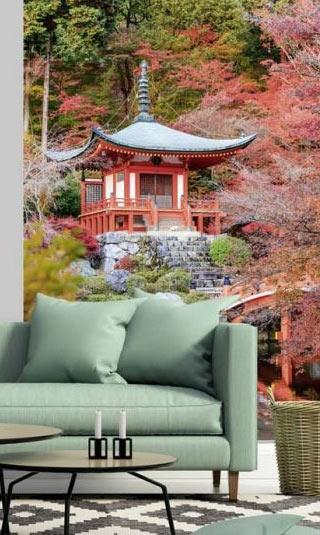 Poster temple zen